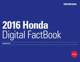 Honda 2015 Digital Factbook