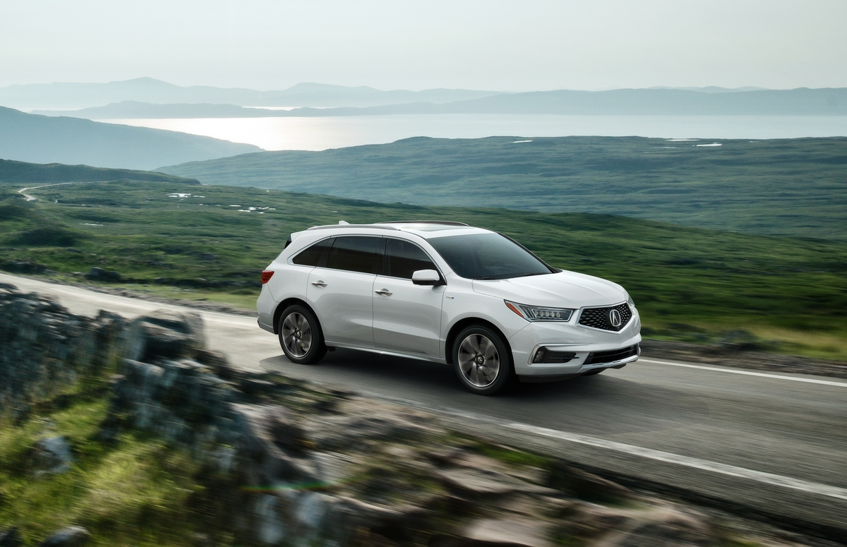 Acura Electrifies Suv Lineup With Ful And Efficient 2017 Mdx Sport Hybrid