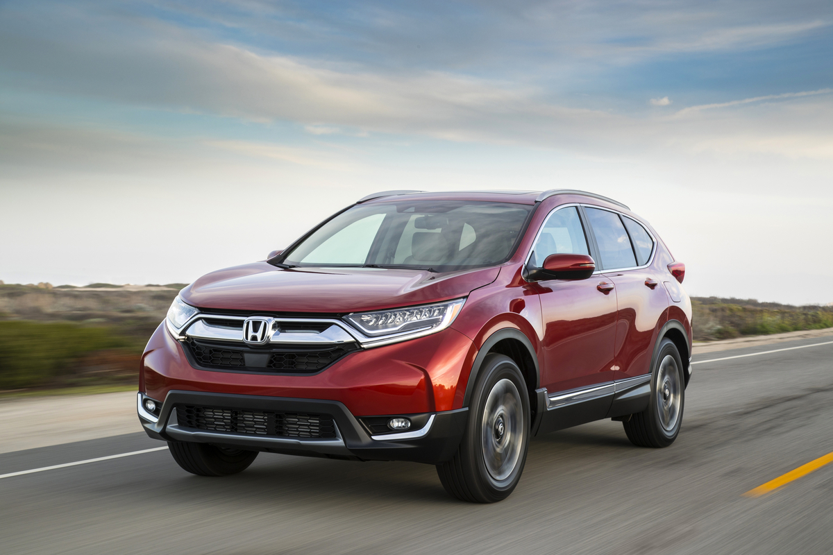 Best Selling 2017 Honda CR V Earns TOP SAFETY PICK+ Rating From IIHS