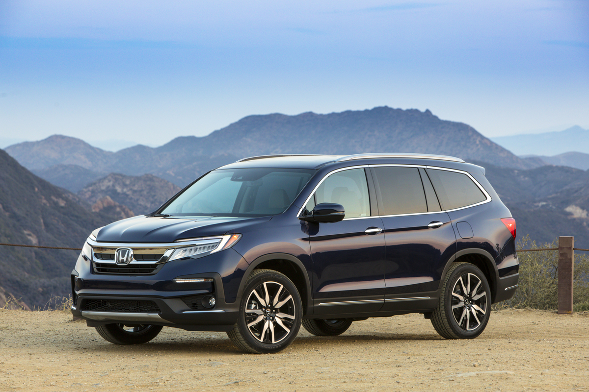 2019 Honda Pilot Named Top Safety Pick By Iihs Honda In America