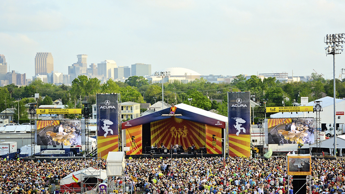 Acura Heads To New Orleans Jazz Heritage Festival Amps Up Annual