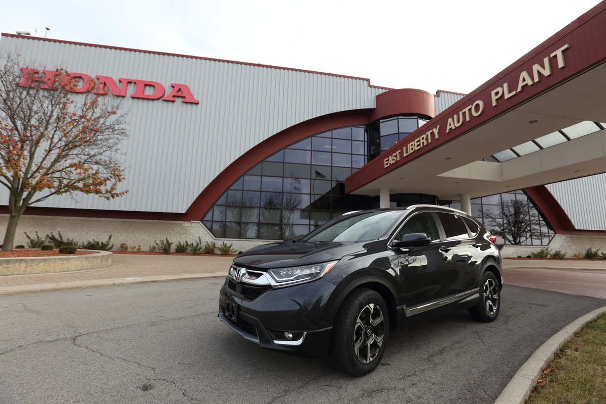Honda Begins Production Of All New 2017 CR V In Ohio First Ever Global Launch For East Liberty Plant