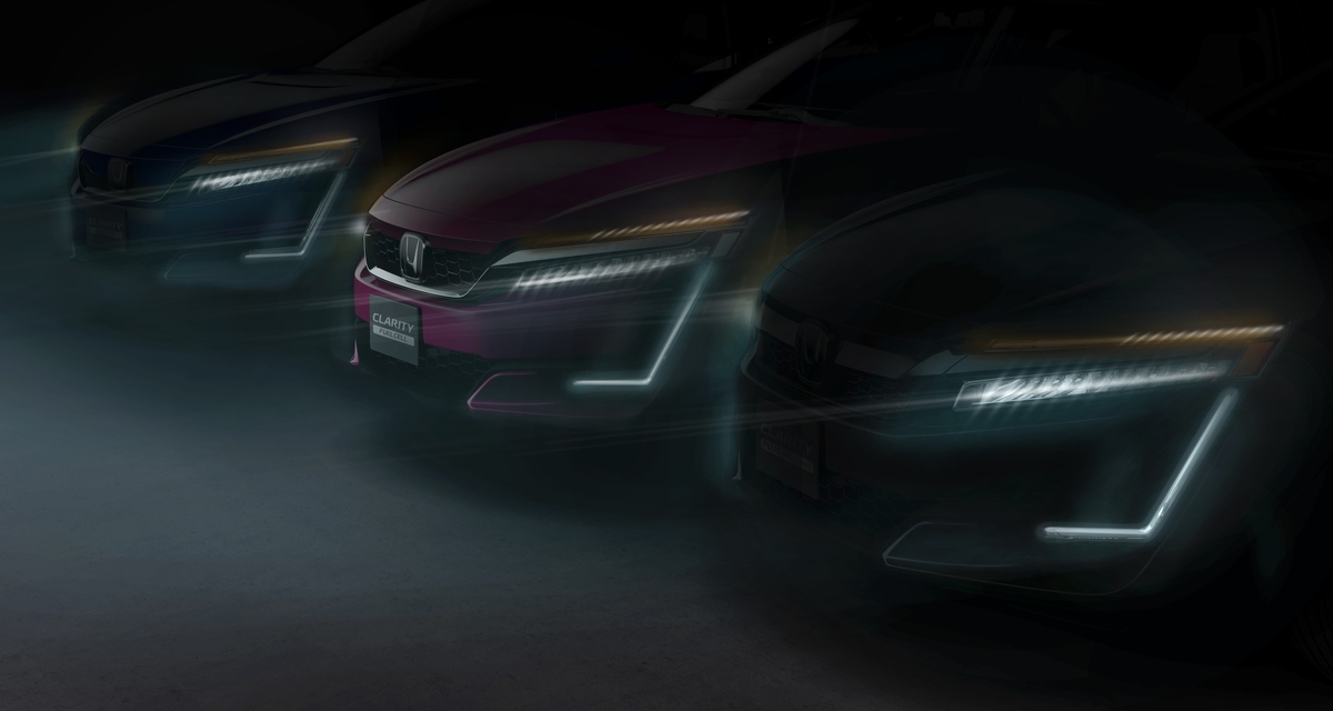 Honda Clarity Plug In Hybrid And Electric To Make Worldwide Debut At 2017 New York International Auto Show