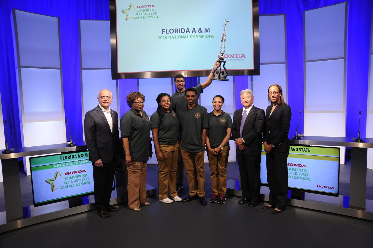 Florida AM University Wins 27th Honda Campus All Star Challenge National Championship