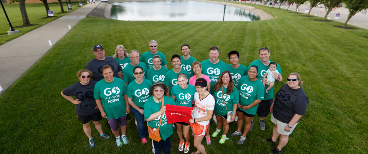 Honda Companies Raise Funds for Relay for Life | Honda In ...