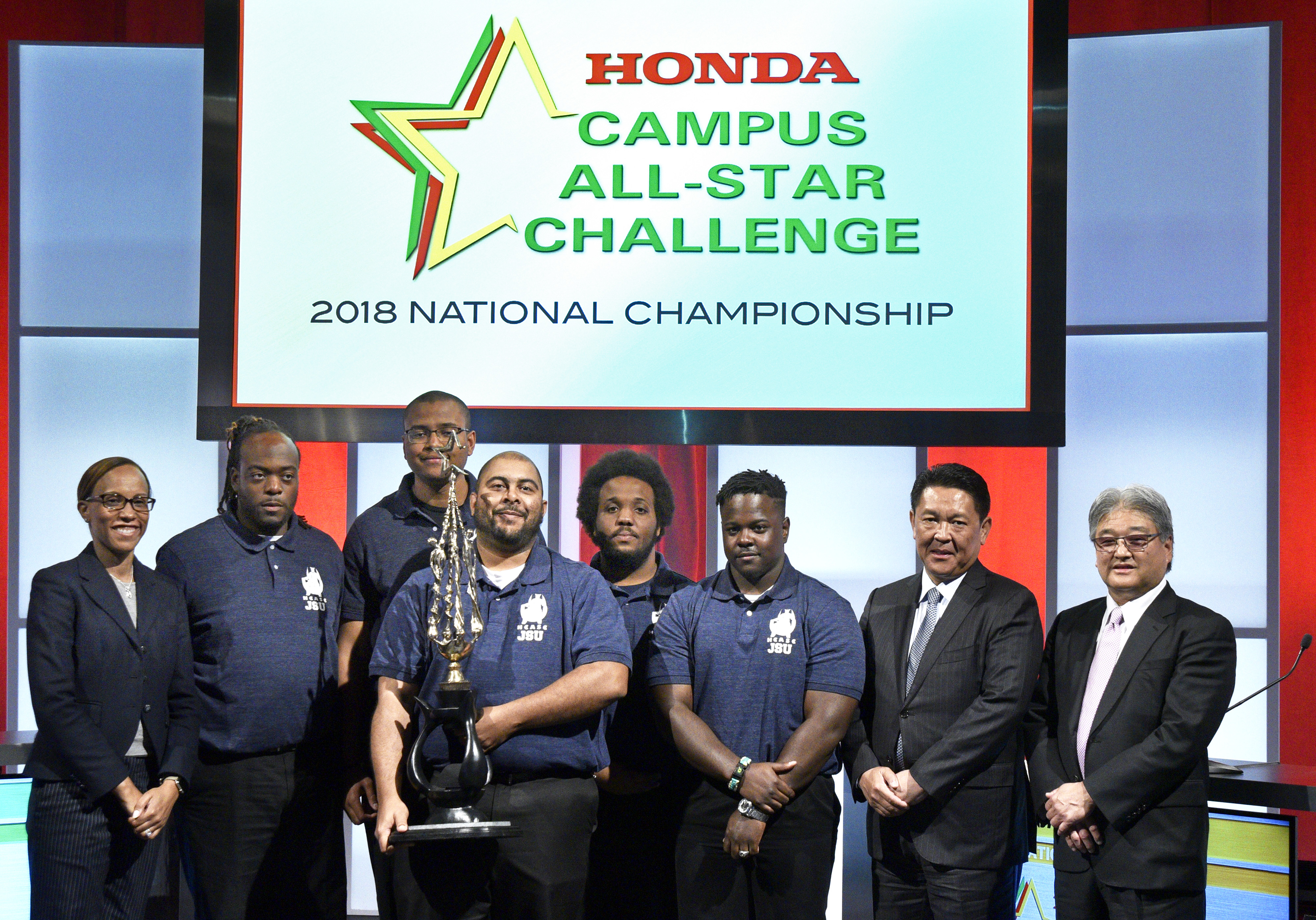 Jackson State University Takes Home Championship Title At 29th Annual Honda Campus All Star Challenge HCASC