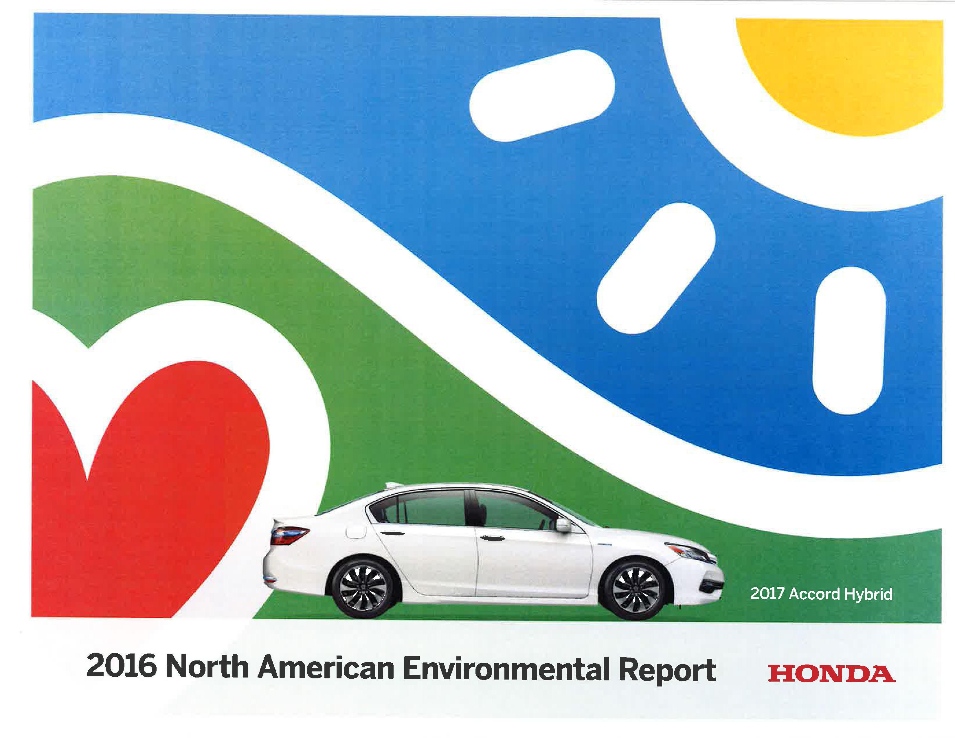 Honda North America >> Honda Reports On Its Environmental Performance And Progress In North