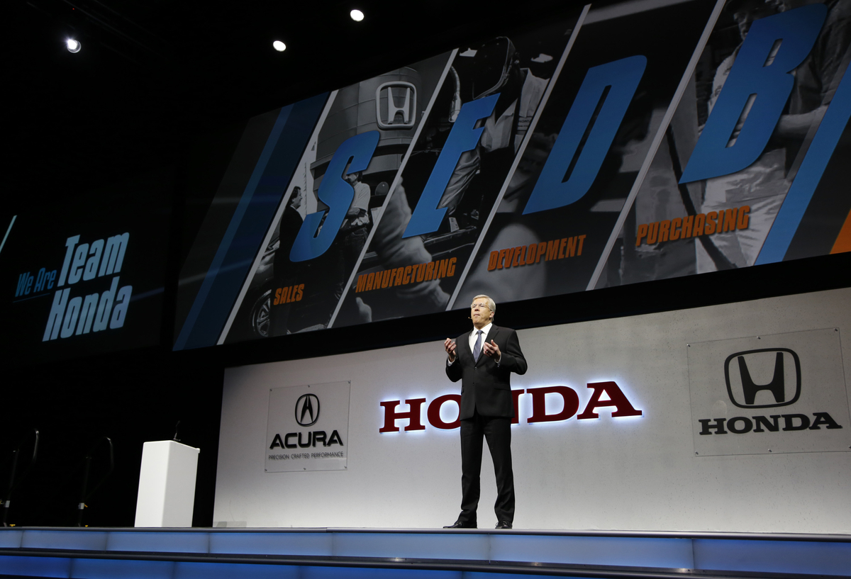 Honda Honors Its Top North American Suppliers