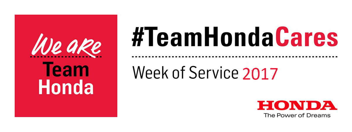 Honda North America >> Honda Week Of Service Lends A Helping Hand Across North America