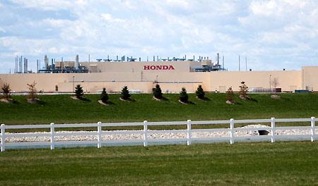 Honda Greensburg Indiana >> Honda Celebrates 10 Years Of Automobile Production In Indiana