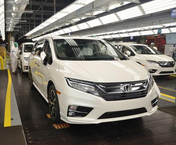 All New 2018 Honda Odyssey Minivan Begins Mass Production In Alabama